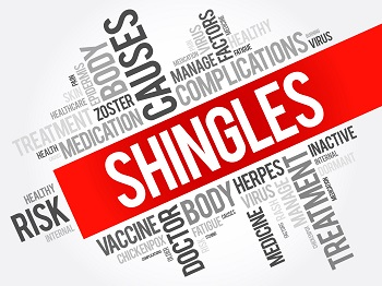 Shingles is a painful condition